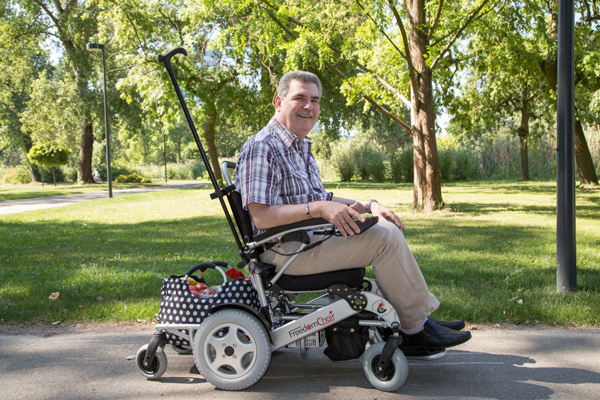 electric powered wheelchair A08L